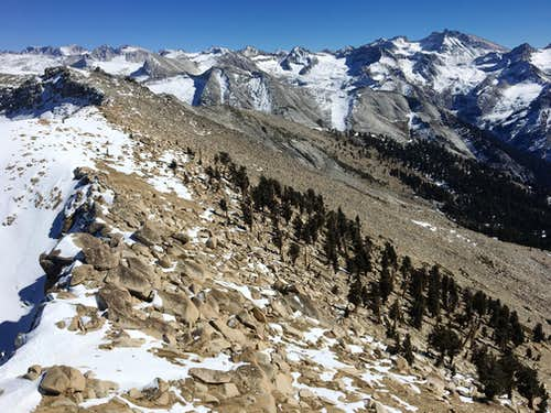 The Great Western Divide From Alta Peak