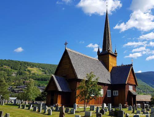 Lom stavkyrkje, Jotunheimen National Park