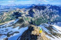 Descending SE Ridge Vulture Peak