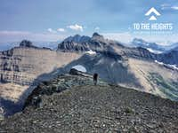 Approaching Ahern Peak Summit