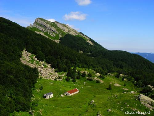 Lago Scuro shelters and Monte Scala