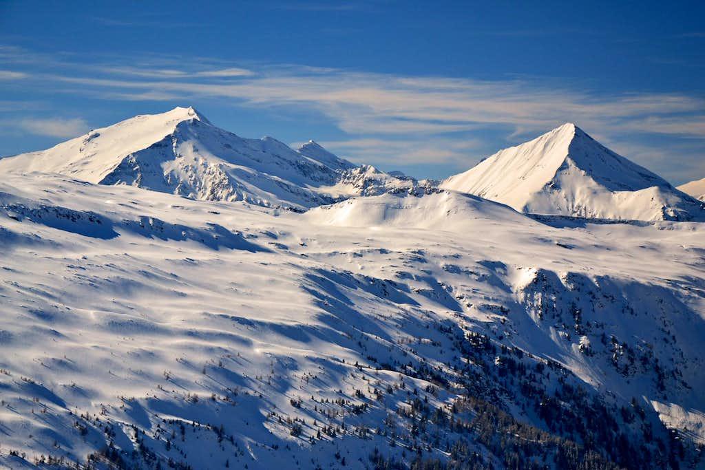 Hocharn (3254 m) and Ritterkopf (3077 m)