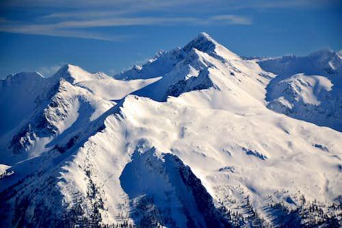 Winter view to Gamskarspitze (2833 m)