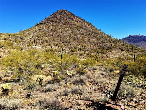 East Apache Peak 2,926'