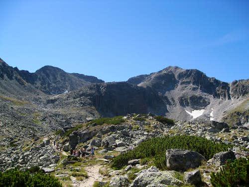 Mt Rila, Musala peak