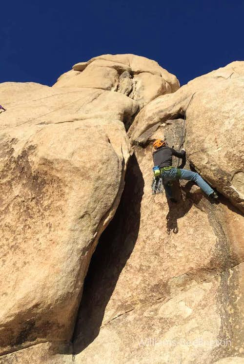 Dow on Let it all Hang Out, 5.10b*