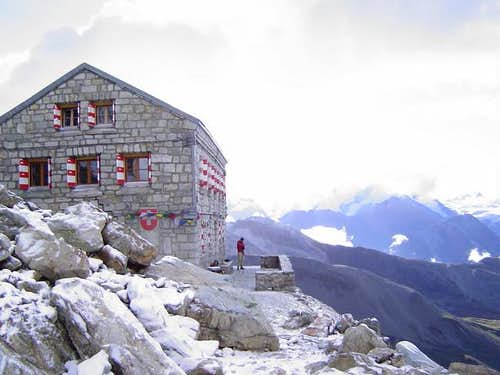 Rothorn Hut at about...
