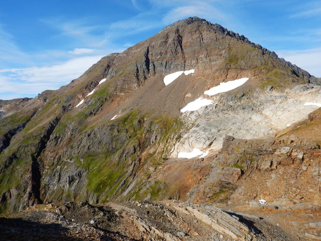 South face of Observation Peak