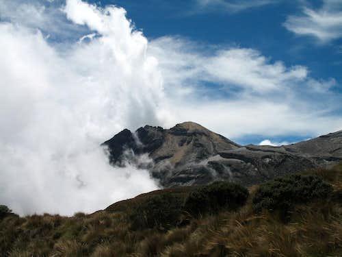 Crater de la olleta, Colombia