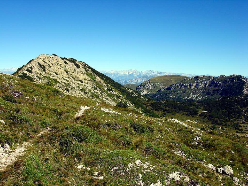 the Sella del Monte Roite 2086 m