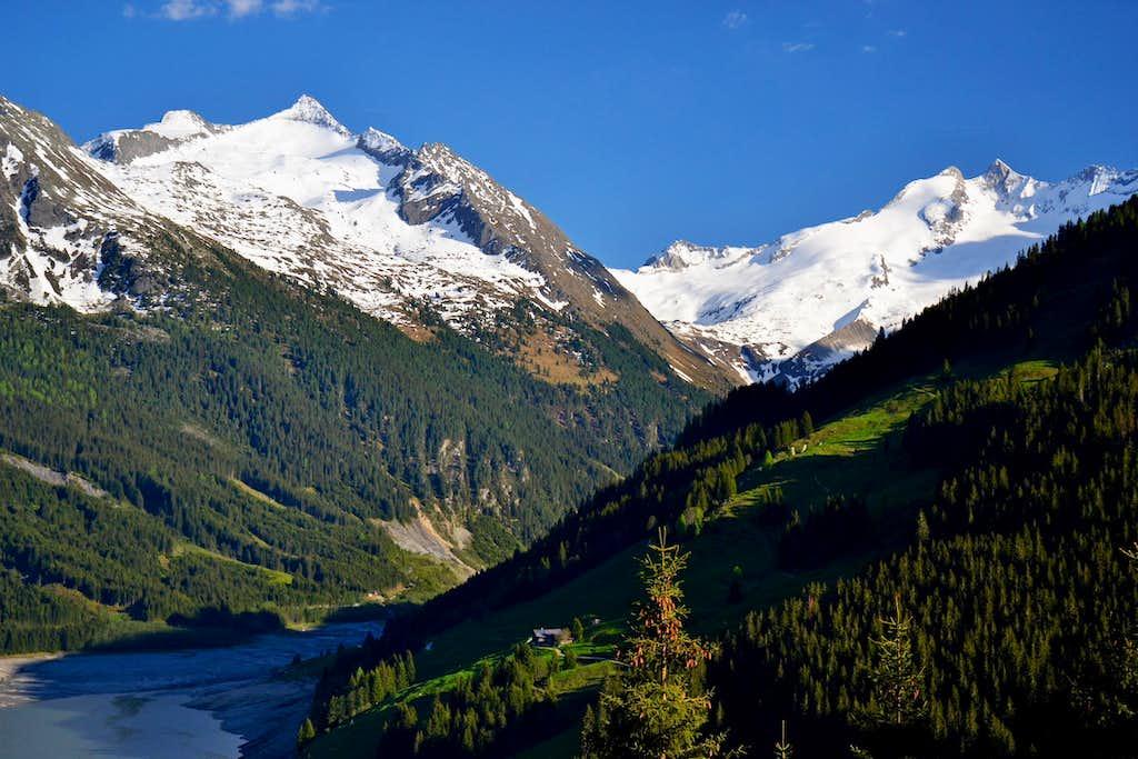 Wildkarspitze (3073 m), Gabler and Reichenspitze