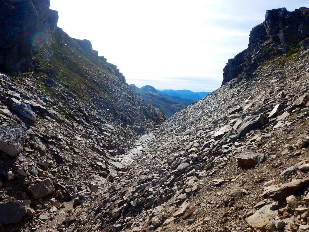 Fault lines on Salmon Ridge