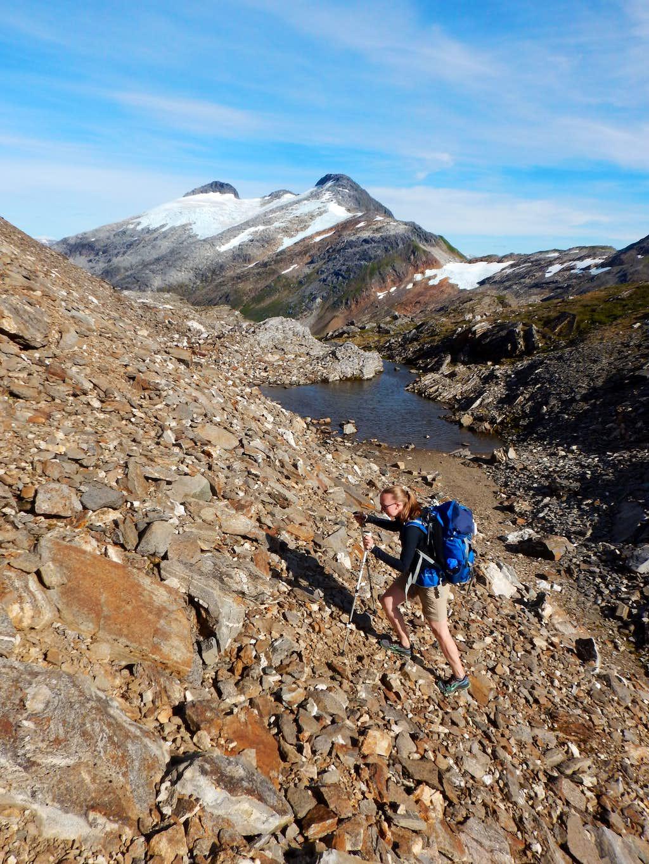 Scrambling on Salmon Ridge