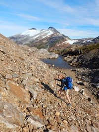 Scrambling on Salmon Ridge