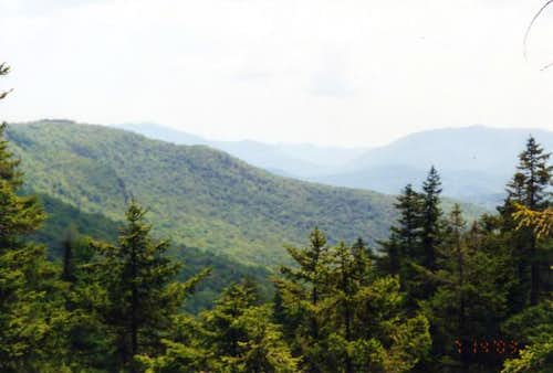 View from the Ammonoosuc...