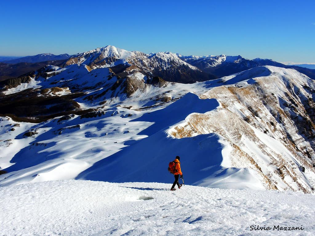 Ridges, Monte Bragalata