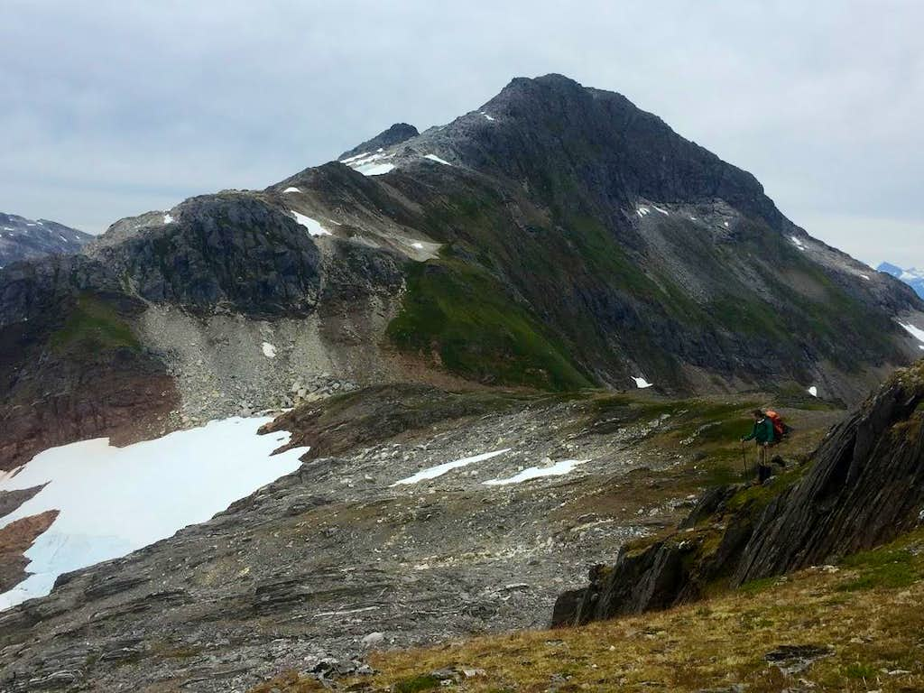 Olds Mountain from Juneau Ridge