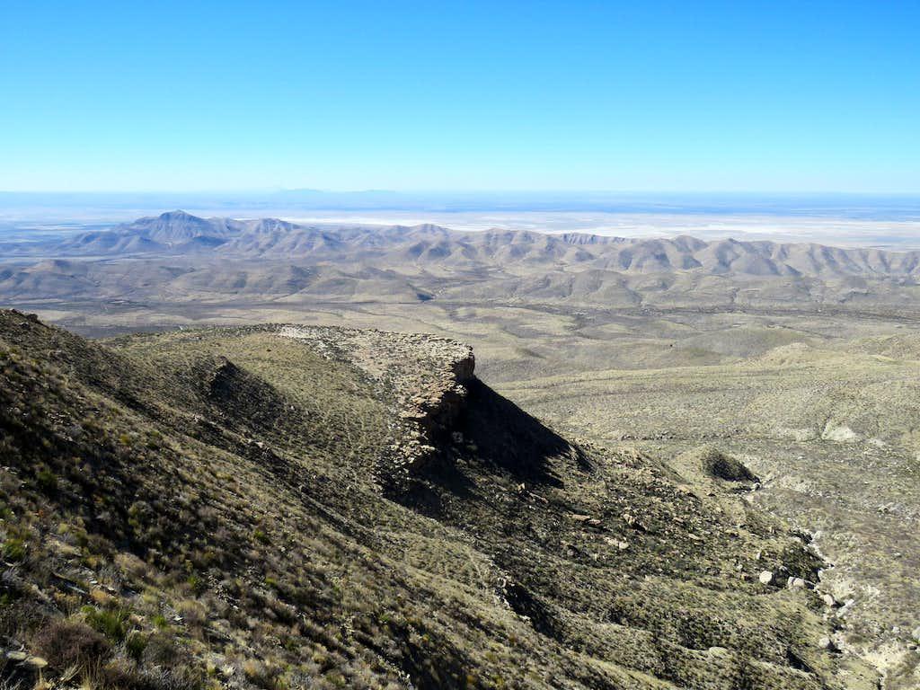 Salt Basin Overlook Plateau