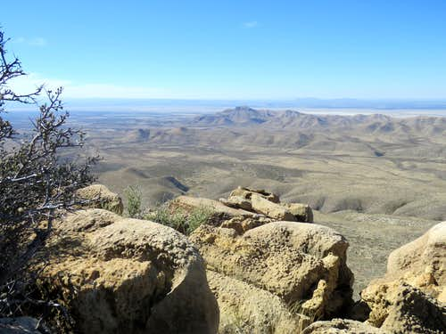 From Salt basin Overlook