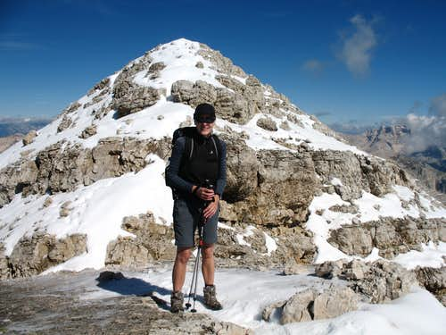 Lavarela, close to the top