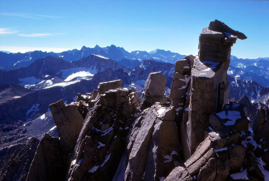 Mount Darwin Summit Pinnacle
