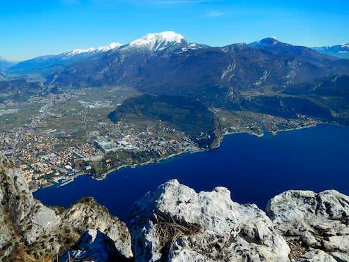 Cima Capi summit view
