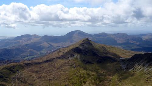 Yr Aran from near Y Lliwedd