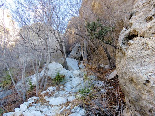 Narrows on Bear Canyon Trail