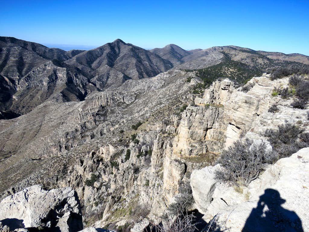 Shumard & Bartlett Peaks