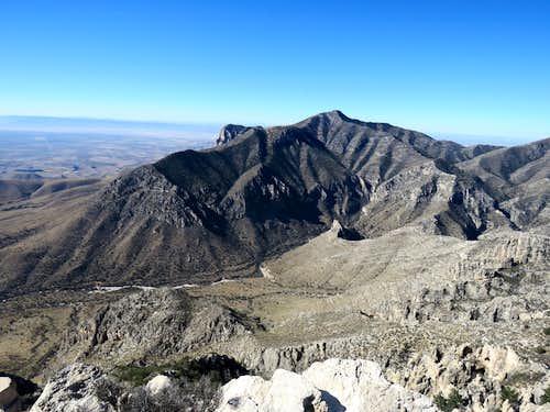 Guadalupe Peak & Pine Spring Canyon