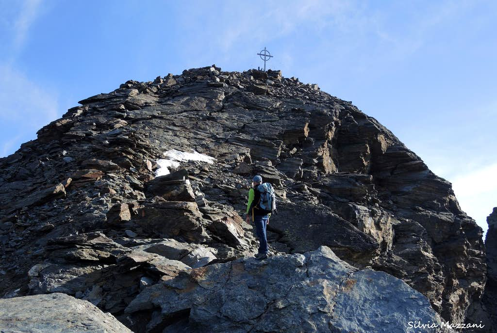 Summit of Croda di Cengles-Tschenglser Hochwand