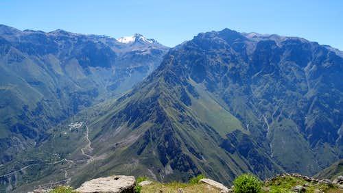 Colca Canyon, looking towards Tapay (left)