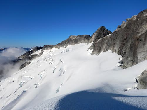 Glacier on North Side