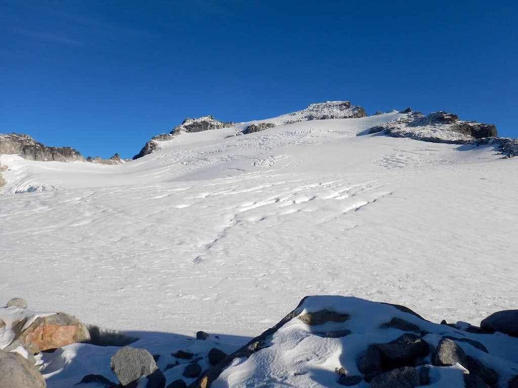 Mt. Wrather Main Glacier