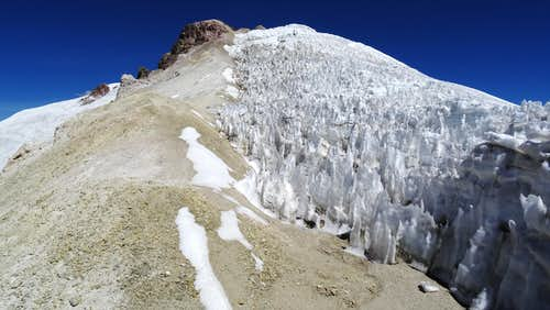Near Acotango summit