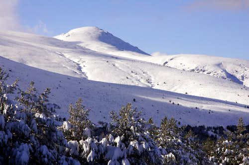 Cabeza de Hierro Mayor in winter