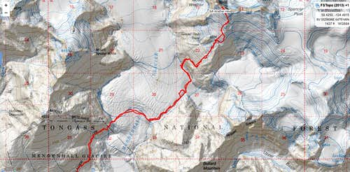 Mt. Wrather Route Overview