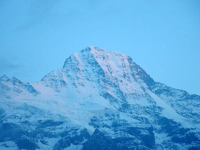 the Breithorn-north face...