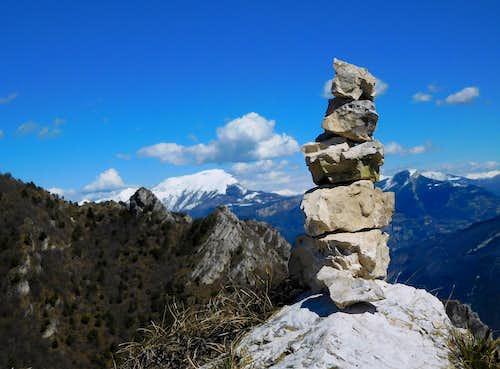 Monte Stivo seen from Cima Mughera
