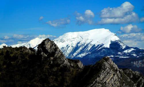 Monte Stivo winter crossing