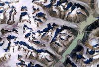 Landsat image. Asgard and its...