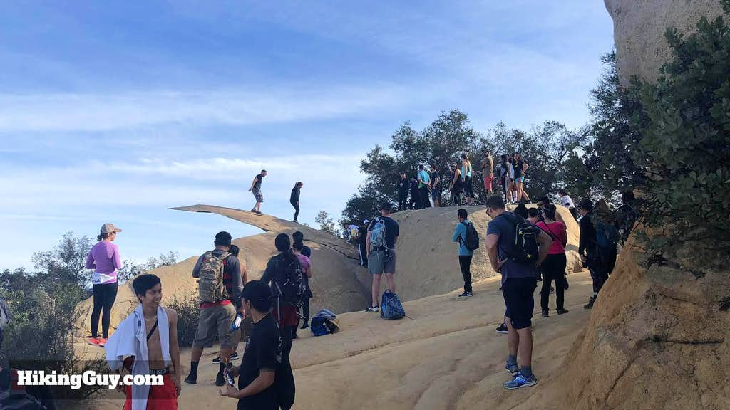 Crowds At Potato Chip Rock