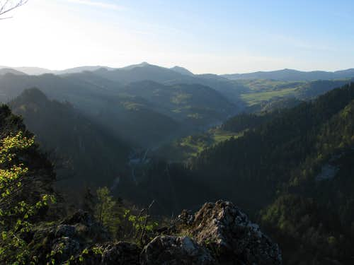 SE view from Sokolica
