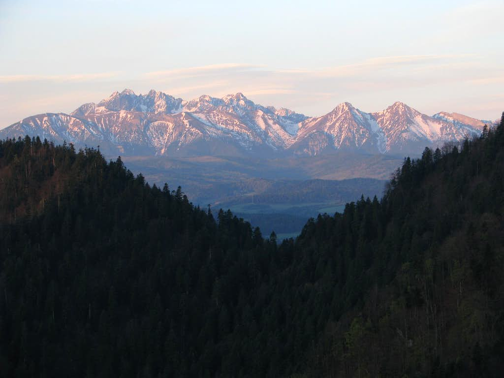 Tatras from Czertezik
