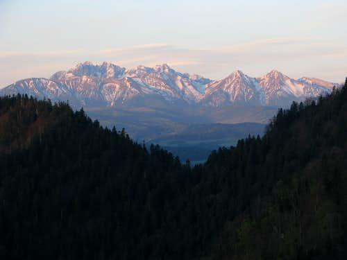 Tatras from Czertezik