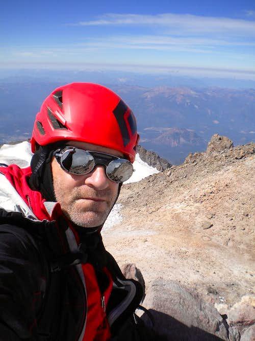 Mount Shasta via AG 08-23-2013 on my own