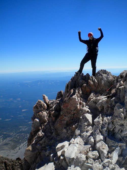 Shasta summit hike with Bob 09-07-2013