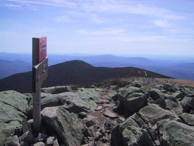 Looking toward South Peak...
