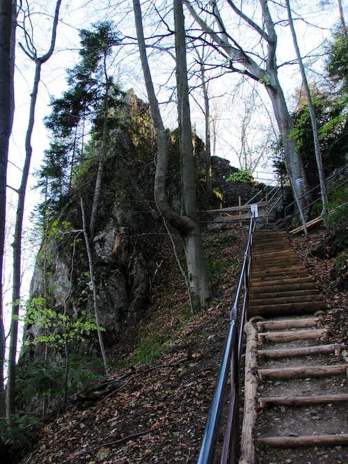 Trail at Pieniny Castle