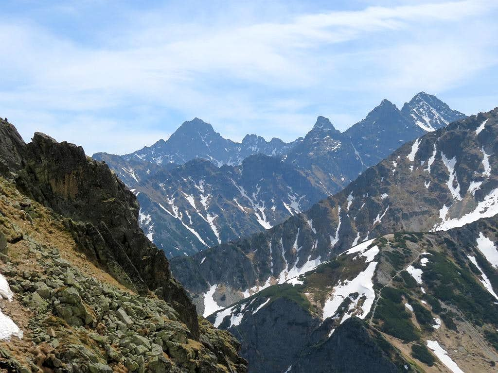 With Polish (Rysy) and Slovakian (Gerlach) highest summits